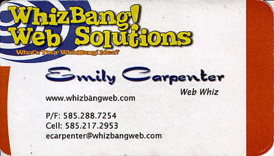 Emily Carpenter - www.whizbangweb.com